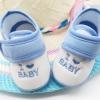 รองเท้าเด็กอ่อน I love Baby สีฟ้า Size 11-13