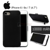 Thin 10000mAh Power Bank Charger External Battery Backup Case Cover For iPhone 6 / 6s /7