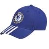 หมวกอดิดาสเชลซี adidas Chelsea 3 Stripe Cap Chelsea Blue ของแท้