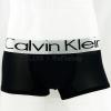 กางเกงในชาย Calvin Klein Boxer Briefs : สีดำ แถบสีเงิน [Nylon]