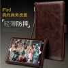เคส iPad Air 2 Business Style PU Leather Stand Case Cover มาพร้อมสายคล้องมือ