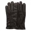 ถุงมือหนังลิเวอร์พูล Signature Mens Brown Leather Gloves ของแท้