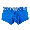 กางเกงในชาย Emporio Amani Boxer Briefs : ขอบใหญ่ สีฟ้า ขอบฟ้า