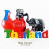 Magnet แม่เหล็กติดตู้เย็น วัสดุเรซิ่น ลายไทย ลวดลาย I Love Thailand ปั้มลายเนื้อนูน ลงสีสวยงาม สินค้าพร้อมส่ง
