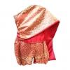 ชุดไทย สไบเด็กหญิง ผ้ามัน กางเกงโจงกระเบน Size 2- Size L