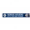 ผ้าพันคอแมนเชสเตอร์ ซิตี้ Sergio Aguero Citys Top Goal Scorer Scarf ของแท้