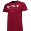 เสื้อทีเชิ้ตแมนเชสเตอร์ ยูไนเต็ด Vintage T-Shirt สีแดงเบอร์กันดี้ของแท้