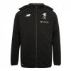 เสื้อแจ็คเก็ตลิเวอร์พูล Mens Black Training Stadium Jacket 17-18 ของแท้