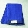 ( มาตราฐาน Muangdek ) กระโปรงนักเรียนมัธยม ตีเกล็ด สีน้ำเงิน