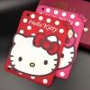 - เคส ซิลิโคน Apple iPad 2/3/4 ลาย Kitty