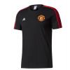 เสื้อทีเชิ้ตแมนเชสเตอร์ ยูไนเต็ด 3 Stripe T-Shirt Black ของแท้