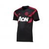 เสื้อเทรนนิ่งแมนเชสเตอร์ ยูไนเต็ด Pre Match Shirt สีดำของแท้