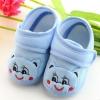 รองเท้าเด็กอ่อน ลายหมีน้อย สีฟ้า Size 11-13