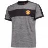 เสื้อทีเชิ้ตแมนเชสเตอร์ ยูไนเต็ด Core Poly T-Shirt - Grey สีเทาของแท้