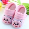 รองเท้าเด็กอ่อน ลายหมีน้อย สีชมพู Size 11-13