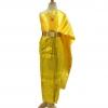 ชุดไทยสีเหลืองทอง ชุดเจ้าสาว เพื่อนเจ้าสาว