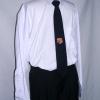 เสื้อนักศึกษาชาย เชิ๊ตสีขาว แขนยาว ยี่ห้อ FG uniform