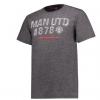 เสื้อทีเชิ้ตแมนเชสเตอร์ ยูไนเต็ด Lifestyle T-Shirt Charcoal Grindle ของแท้