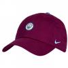 หมวกไนกี้แมนเชสเตอร์ ซิตี้ Core Cap Maroon ของแท้