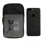 UK Army กระเป๋าคาดเอว เคส iPhone Samsung Oppo Huawei vivo สีดำ