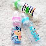 [ขายปลีก] ขวดนม BPA-free พิมพ์คละลาย Natur 8 oz.
