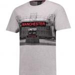 เสื้อทีเชิ้ตแมนเชสเตอร์ ยูไนเต็ด Lifestyle Stadium T-Shirt Light Grey Marl ของแท้