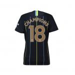 เสื้อไนกี้แมนเชสเตอร์ ซิตี้ 2018 2019 ทีมเยือน Champions 18 สำหรับสุภาพสตรีของแท้