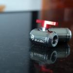 Ball valve Bykski สีแดง
