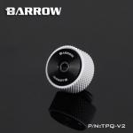 Barrow G1 / 4 manual exhaust valve ขาว-ดำ
