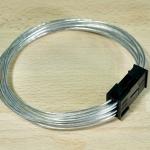 สายไฟเพิ่มความยาว 8 Pin VGA ขนาด 18AWG สายใส