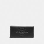 กระเป๋าสตางค์ผู้ชาย COACH BREAST POCKET WALLET F24653 : BLACK