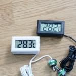 ตัววัดอุณหภูมิชุดน้ำ แบบใช้ถ่าน