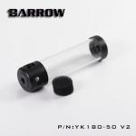 ถังพักBarrow YK180-50 V2 สูง 180MM สีดำ