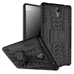Hybrid Shockproof Armor Rubber Stand Case For Lenovo Phab 2