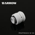 Barrow Fitting K12 V4 สีขาว ท่ออคริลิค12mm