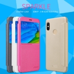 NILLKIN เคส Xiaomi Redmi Note 5 Pro รุ่น Sparkle Leather Case แท้ !!