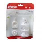 จุกนมพีเจ้น Pigeon ซิลิคอน รุ่นคลาสสิค Size S M L แพค 3 จุก ซื้อ 1 แถม 1