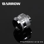 Barrow Fitting K14 V.4 สีเงิน ท่ออคริลิค14mm