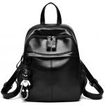[ พร้อมส่ง ] - กระเป๋าเป้แฟชั่น สีดำคลาสสิค สุดเท่ใบกลางๆ ดีไซน์สวยเก๋ไม่ซ้ำใคร เหมาะกับสาว ๆ ที่ชอบกระเป๋าเป้ หนังนิ่มน่าใช้ค่ะ