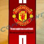 เคสสกรีนลาย Manchester United