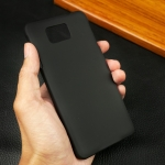 เคสหลัง Samsung Galaxy Alpha สีดำ
