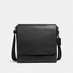 กระเป๋าผู้ชาย COACH รุ่น CHARLES SMALL MESSENGER F28576 : BLACK