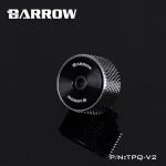 Barrow G1 / 4 manual exhaust valve เงิน-ดำ