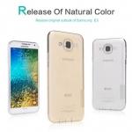 Nillkin Nature Slim Clear TPU Case Cover for Samsung Galaxy E5