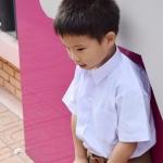 ( พรีเมี่ยม ตราเขลางค์เมืองเด็ก ) เสื้อเชิ๊ต นักเรียนชาย แขนสั้น