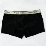 กางเกงในชาย Calvin Klein Boxer Briefs : สีดำ ผ้าลายตาราง