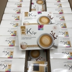 BK Size Coffee บีเค ไซต์ คอฟฟี่ กาแฟปรุงสำเร็จรูปชนิดชงดื่ม 12 กล่อง