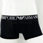 กางเกงในชาย Emporio Amani Boxer Briefs : สีดำ แถบดำ