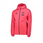 เสื้อแจ็คแก็ตแมนเชสเตอร์ ยูไนเต็ด เสื้อกันฝน Training Rain Jacket สีชมพูของแท้