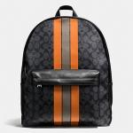 กระเป๋าเป้ผู้ชาย COACH รุ่น CHARLES BACKPACK IN VARSITY SIGNATURE F72340